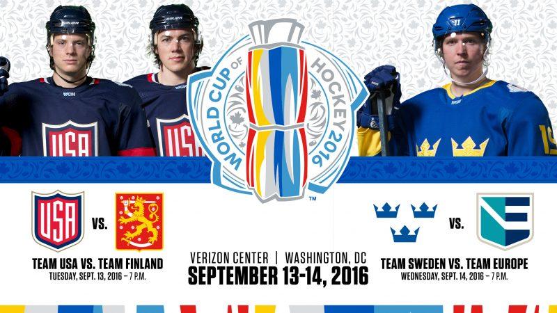 world cup of hockey team usa 2016