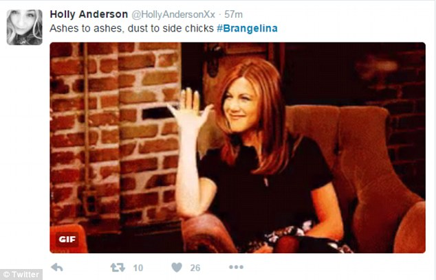 Brangelina divorce gives explosion of Jennifer Aniston memes 2016 images