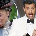 jimmy kimmel maggie smith rule