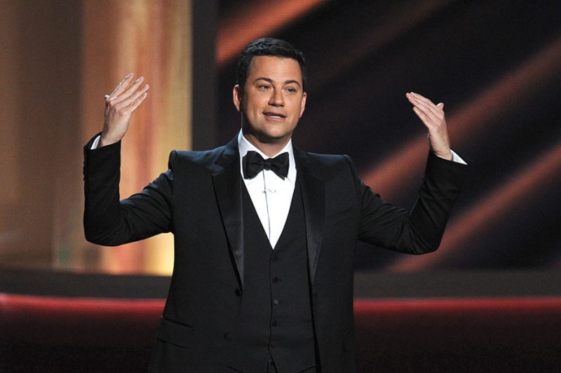 jimmy kimmel takes on donald trump