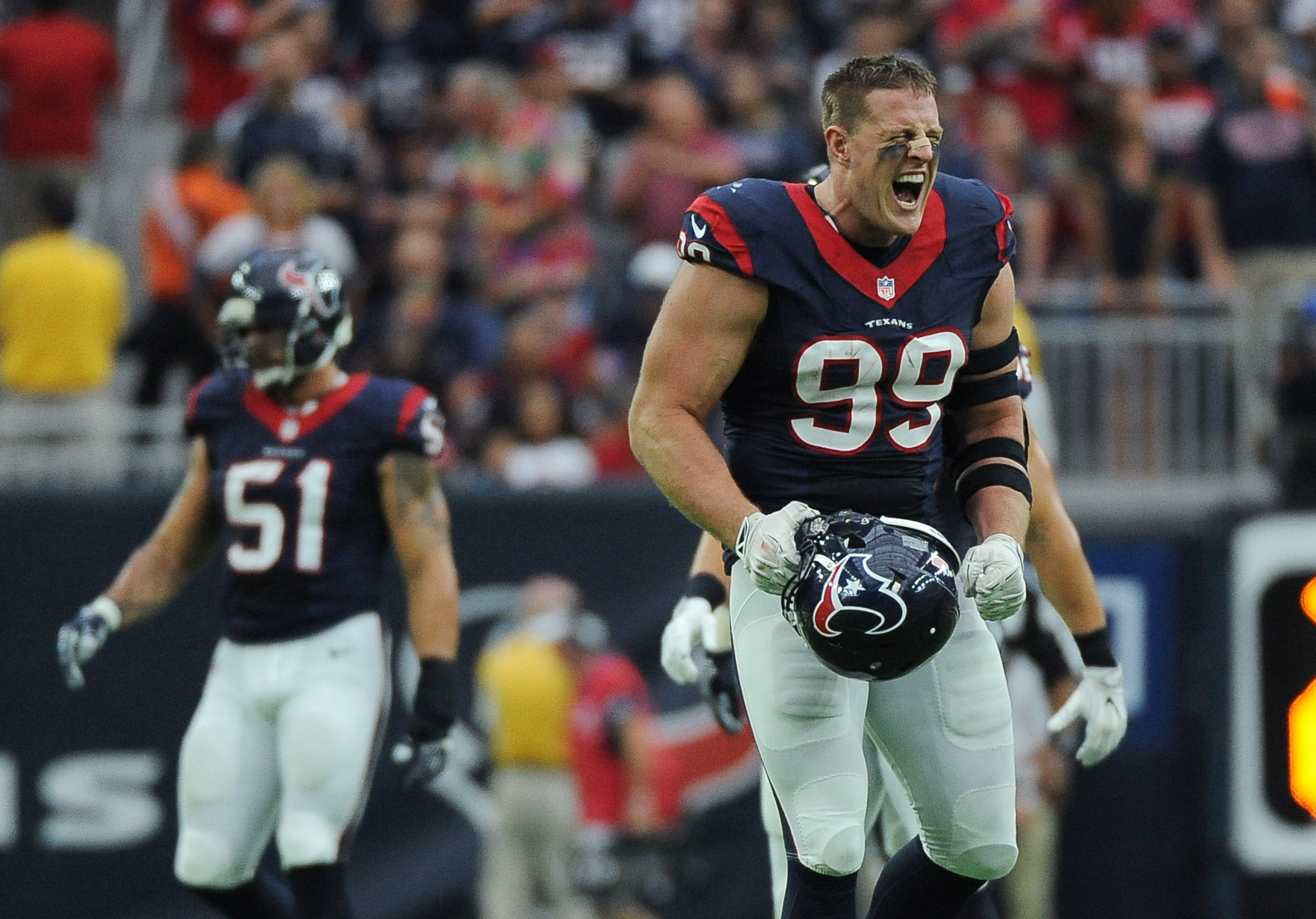J.J. Watt Not For Long in NFL 2016 images