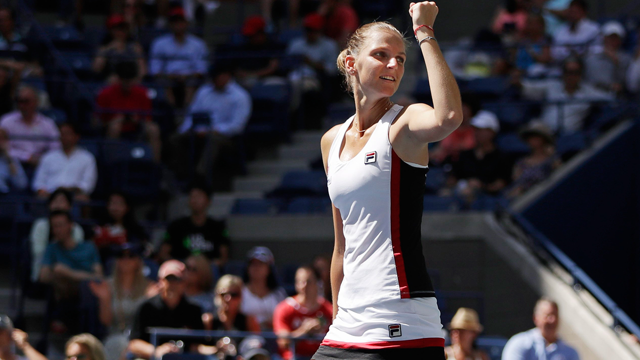 karolina pliskova takes on angelique kerber 2016