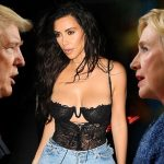 kim kardashian leaves donald trump for hillary clinton