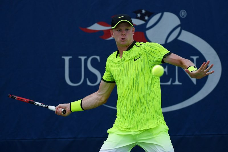 kyle edmund knocked out of us open by novak djokovic