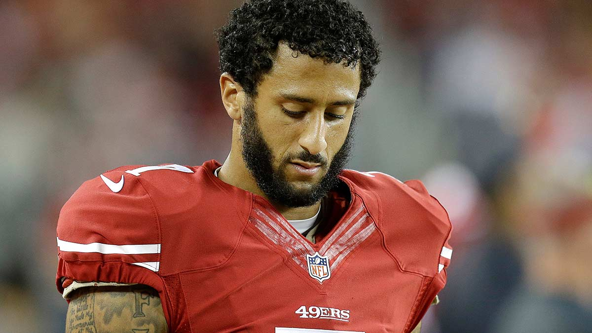 Local police threaten 49ers boycott due to Colin Kaepernick 2016 images