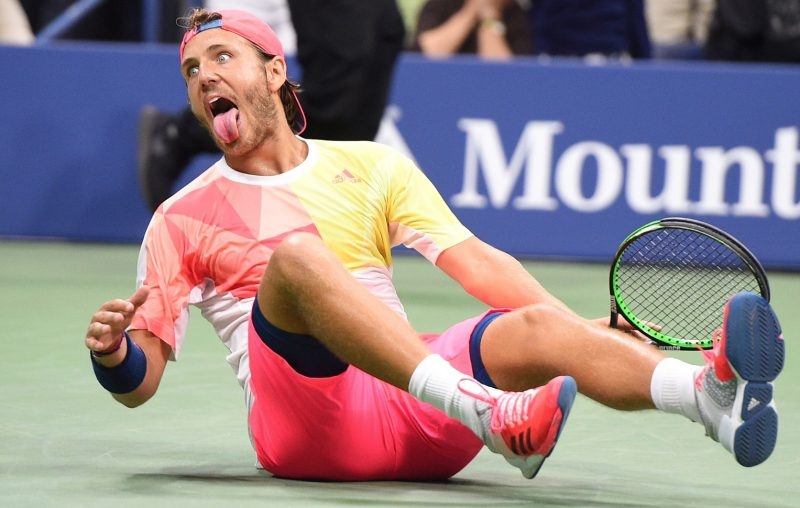 lucas pouille beats off rafael nadal at us open 2016 rafi