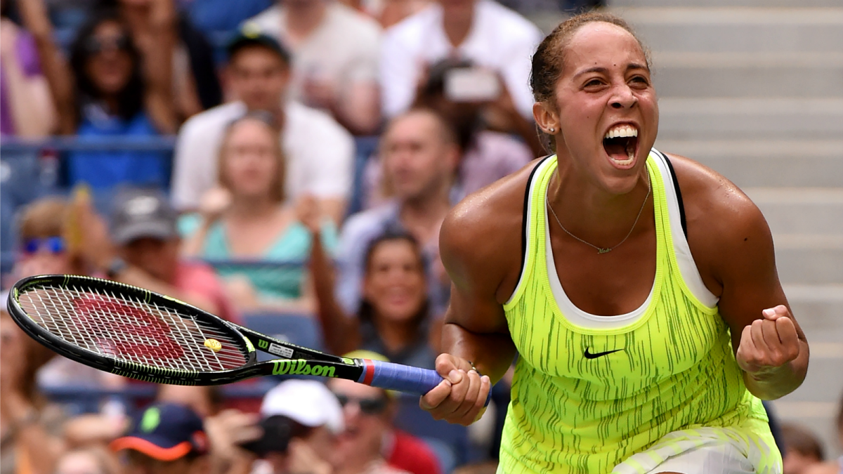 madison keys vs caroline wozniacki 2016 us open preview tennis images