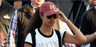 Malia Obama's party time and Kylie Jenner wigs out 2016 images