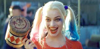 margot robbie taking on Harley quinn suicide squad spinoff movie 2016 images