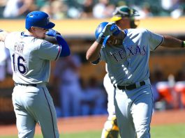 mlb playoffs 2016 texas rangers have to live down choking baseball images