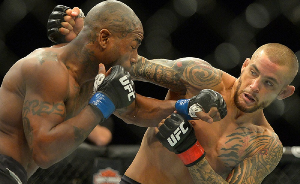 mma weekly michael johnson stops dustin poirier and chad sonnen 2016 images