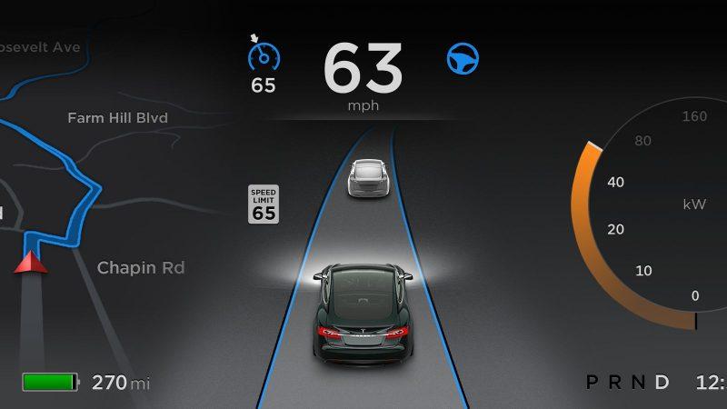 new tesla autopilot rollout radar 2016