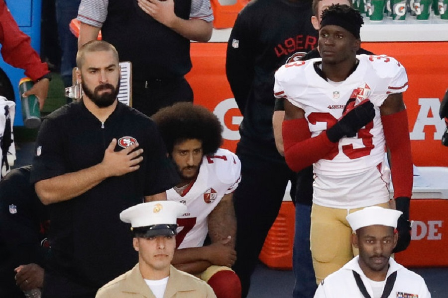 nfl protests dont look like theyll go away soon
