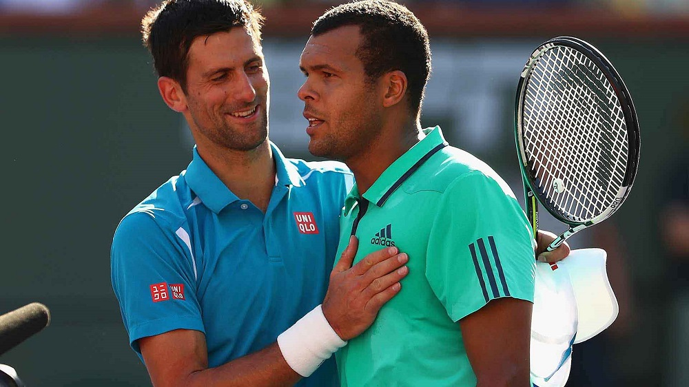 Novak Djokovic bad luck for opponents at 2016 US Open tennis images
