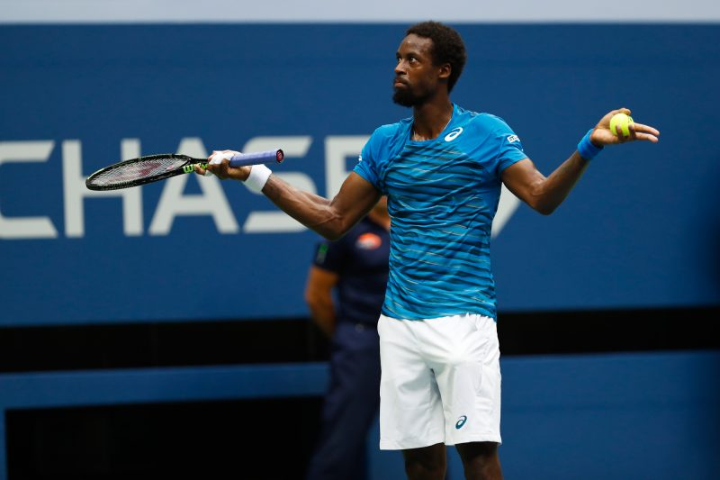 novak djokovic wins to an odd playing gael monfils 2016 us open