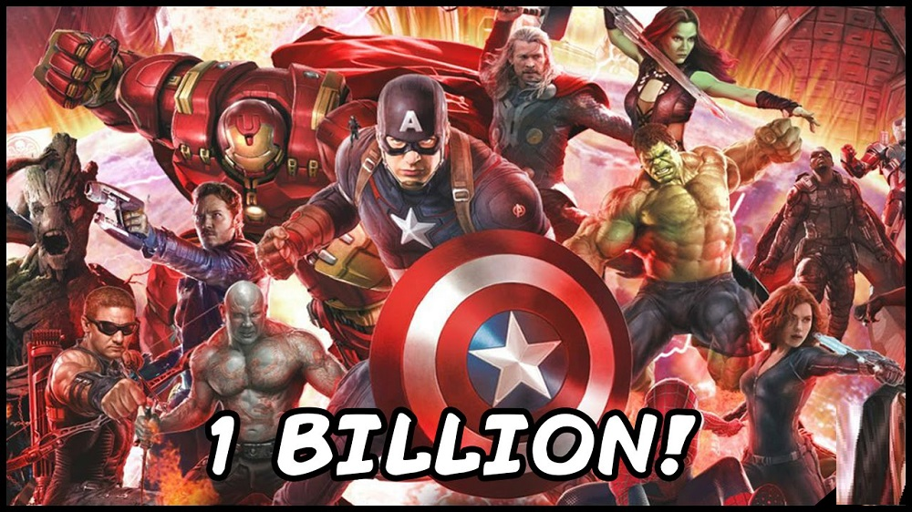 one billion dollars for an avengers infinity war 2016 images