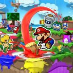 paper mario color splash released