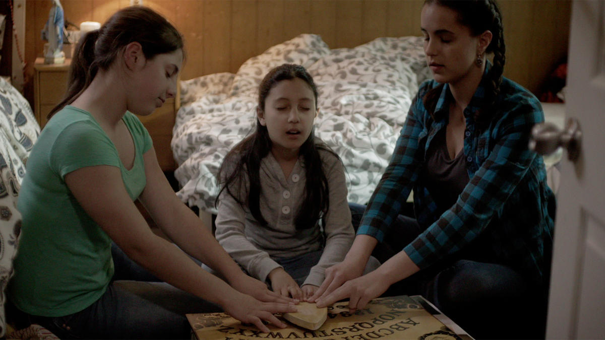 'Paranormal Witness' 503 From HELL aka kids with Ouija boards bad idea 2016 images