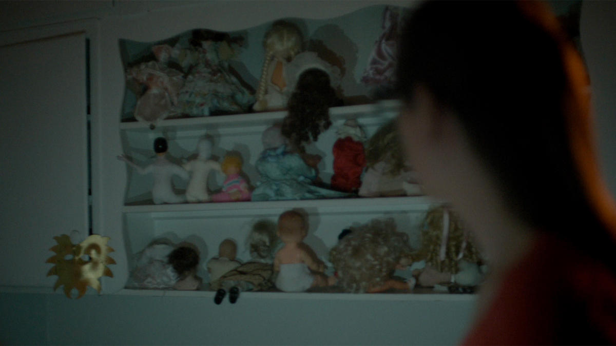 paranormal witness they are mine creepy doll backward