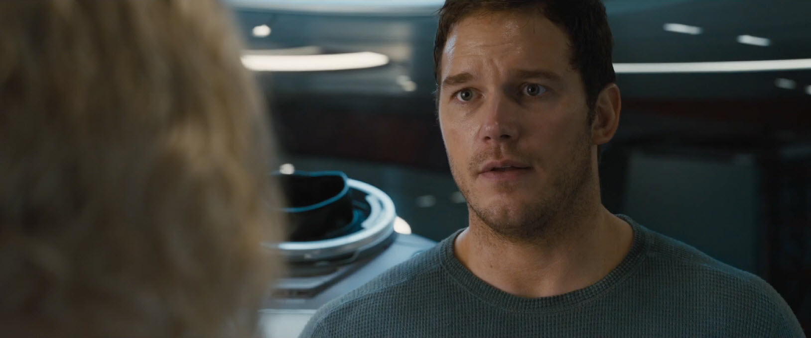 passengers chris pratt super beefy