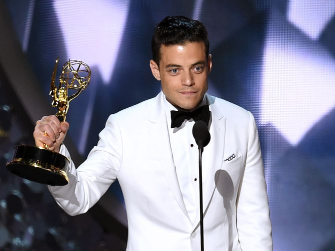 rami malek mr robot emmy speech