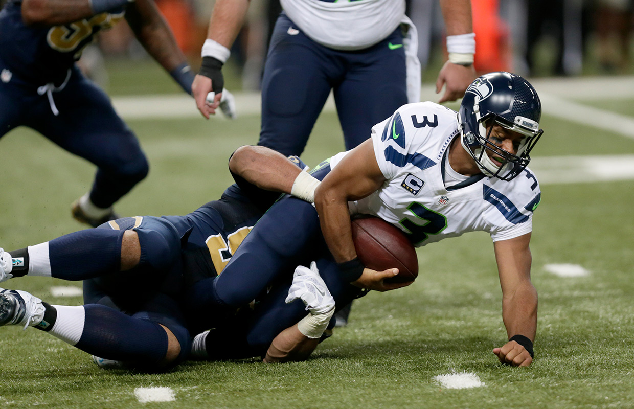 los angles rams beat seahawks with no touchdowns 2016 images