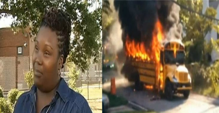 reneita smith makes hero for saving kids from burning bus