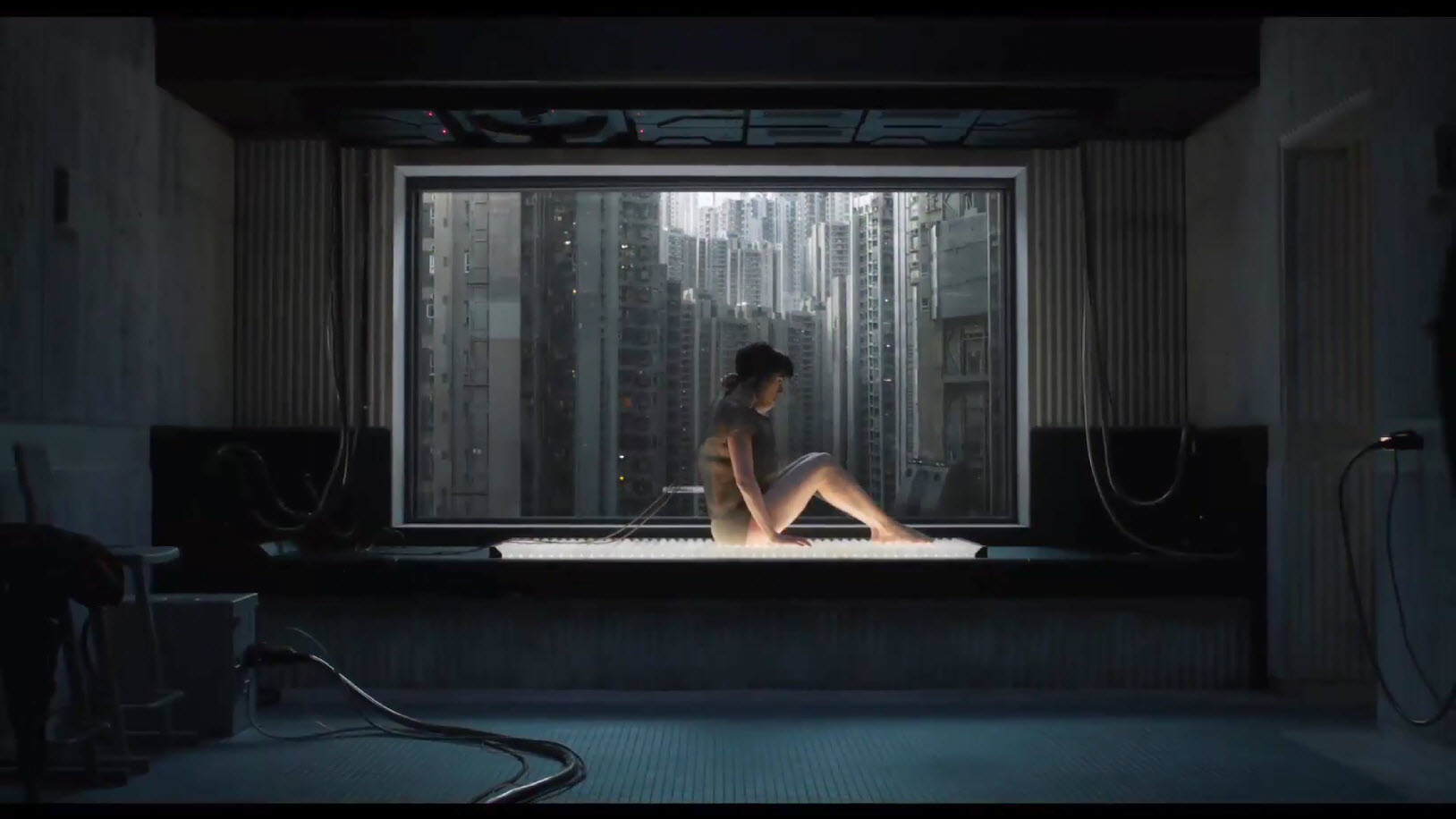 scarlett johanssen ghost in the shell underwear images