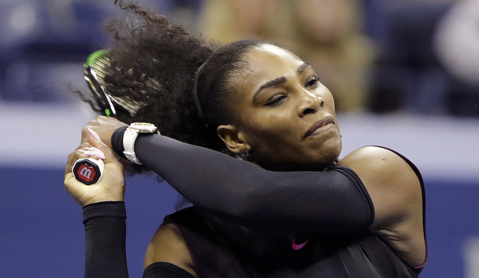 Serena Williams shoulder in fine shape for 2016 US Open 2016 images