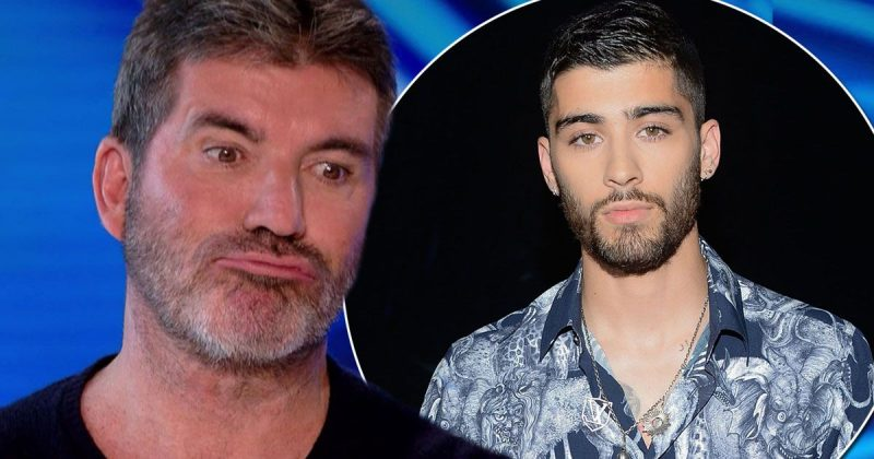 simon cowell not feeling zayn malik 2016