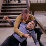 spock dying on captain kirk star trek