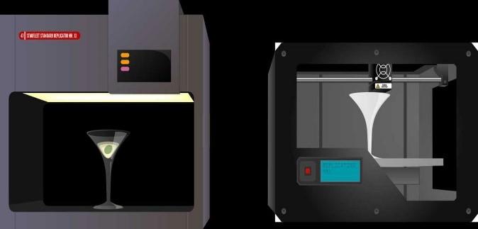 star trek 3d printers
