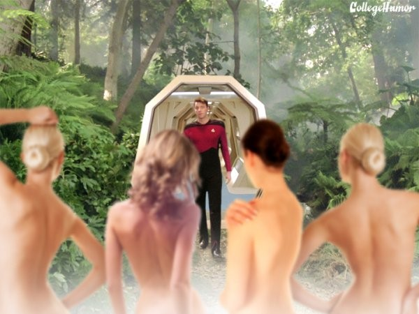 star trek 3d women