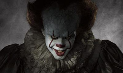 stephen kings it movie wraps with new pennywise image 2016 pics