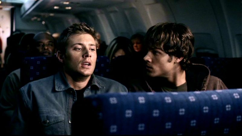supernatural airplane fear for dean