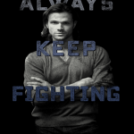 supernatural always keep fighting depression