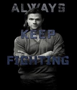 supernatural always keep fighting depression