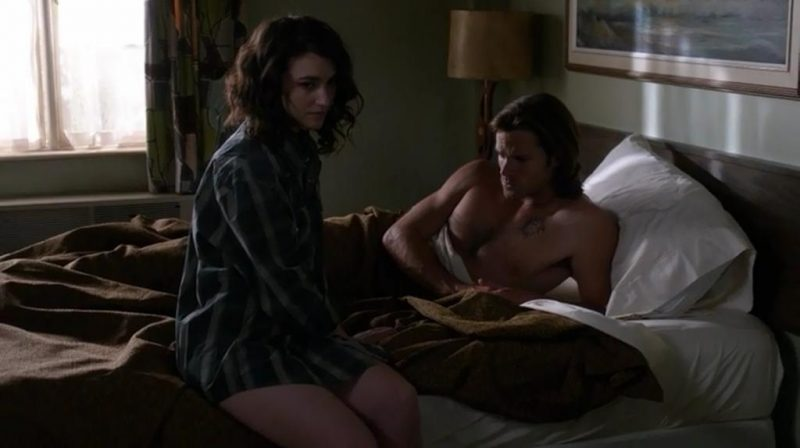 supernatural sam amelia at motel