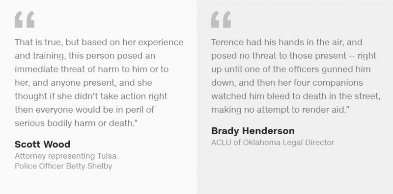 terence crutcher armed infographic
