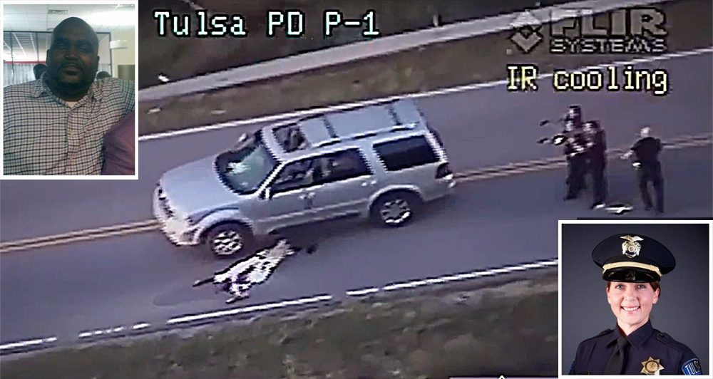 Terence Crutcher proves police won't stop shooting blacks anytime soon 2016 images