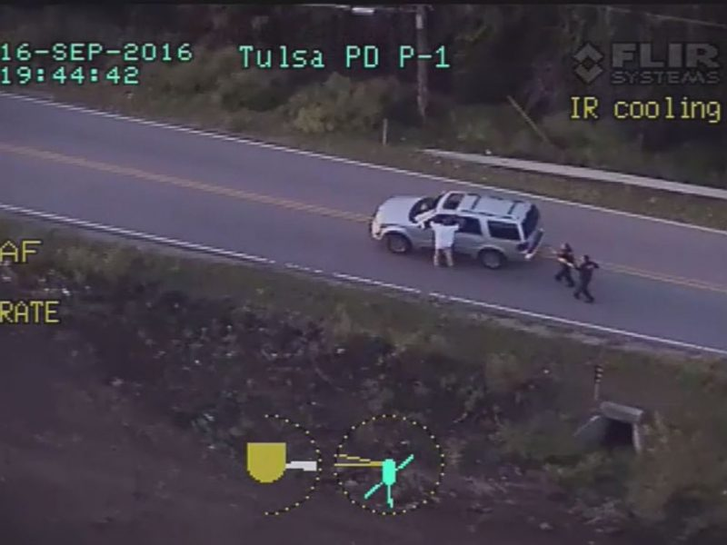 terrence crutcher shot and killed 2016