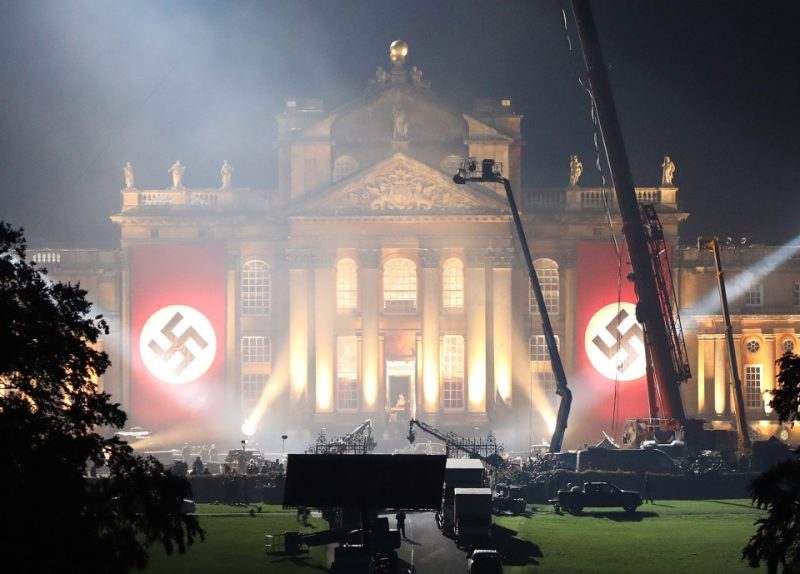 transformers the last knight nazi flags 2016