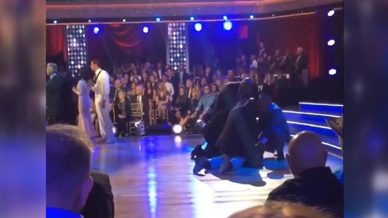 two men arrested after rushing ryan lochte dwts 2016 images