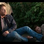 supernatural sam winchester on ground with castiel 12.01 kb 18