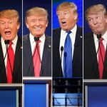 All of Donald Trump's personalities come out in final debate