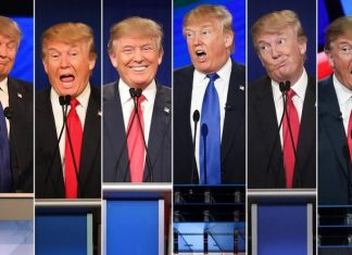 All of Donald Trump's personalities come out in final debate 2016 images