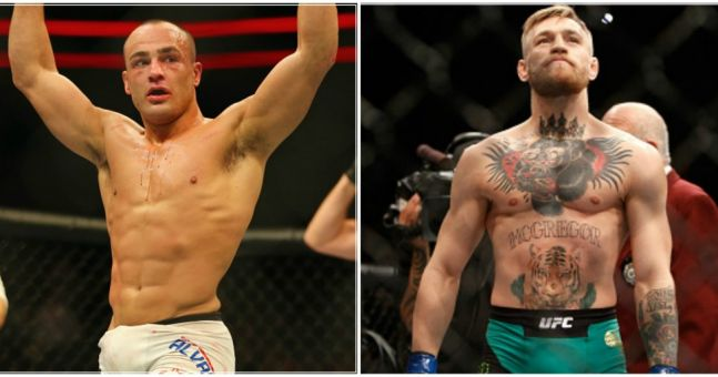 Conor McGregor vs Eddie Alvarez ufc 205 mma images