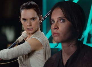 Daisy Ridley Discusses ReyJyn 'Star Wars' Theories and Felicity Jones 2016 images