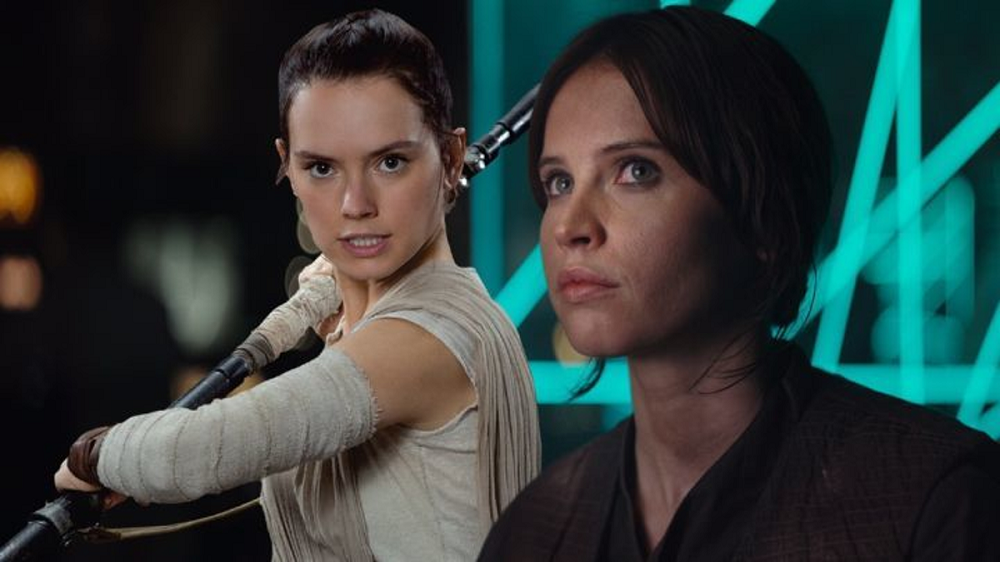 Daisy Ridley Discusses Rey/Jyn 'Star Wars' Theories and Felicity Jones 2016 images