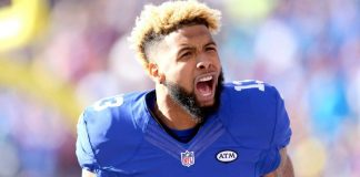 DraftKings Perfect Lineup Week 6 biggest check with odell beckham 2016 images